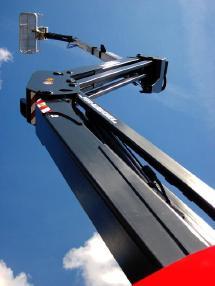 Mafsallı / teleskopik platform - Manitou MANITOU 180 ATJ 4x4x4 - 18m / seitlich 11m