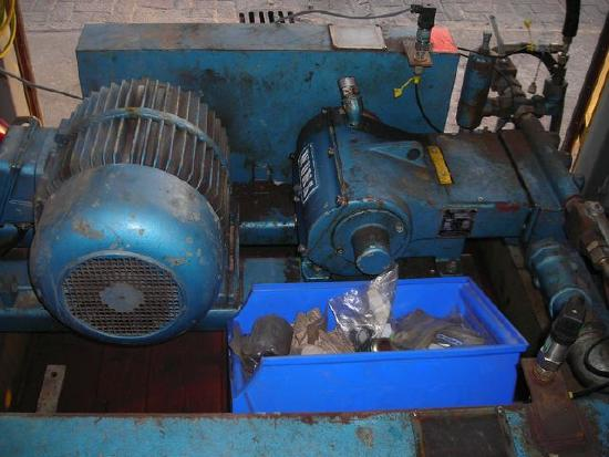 Woma Containerized dual Woma high pressure water pumps 453.50