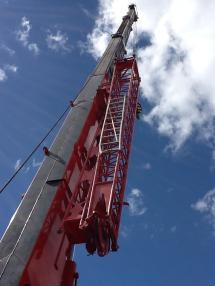Siirrettävä nosturi - Lokomo 353(50ton)30m(hydraulik)+6m(mekanik)+14m+2-hooks
