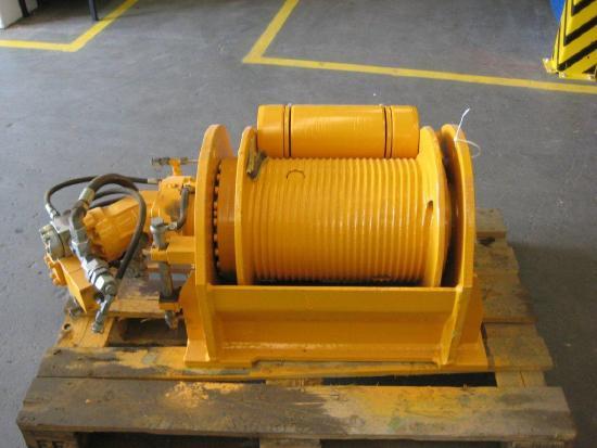Bauer Hilfswinde / Auxiliary winch 55 kN (BG15/BG18/BG20)