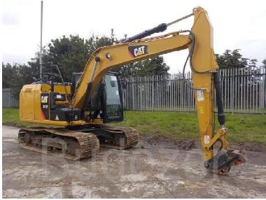 Tracked excavator - Caterpillar 312E