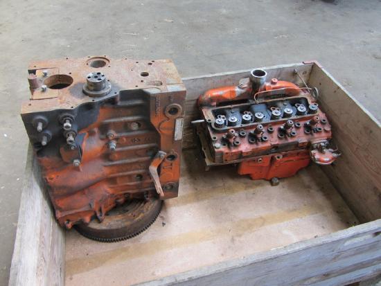 4 Zyl. Perkins Diesel Motor 4.236