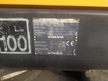 Minikoparka - Volvo EC70