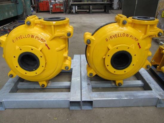 Warman New Yellow Pumps.