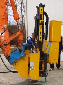 Piling rig - Orteco 1000