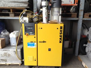 Compressed air technology - Kaeser SK 21 Sigma