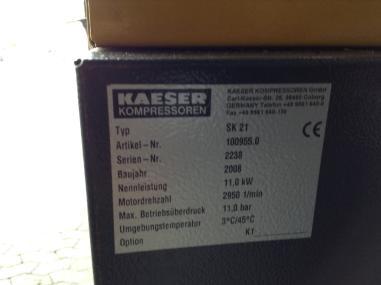 Пневмотехника - Kaeser SK 21 Sigma