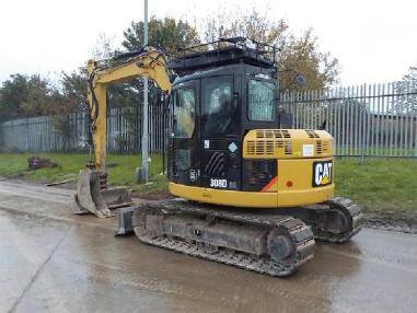 Minigraafmachine - Caterpillar 308 DCR