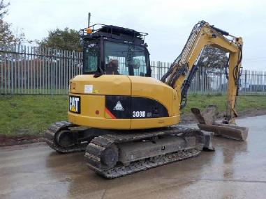 Mini excavator - Caterpillar 308 DCR