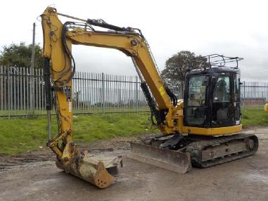 mini bager - Caterpillar 308DCR