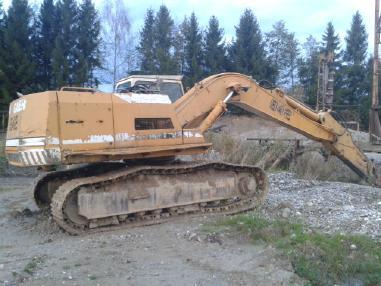 Kettenbagger - Liebherr R 942 LC