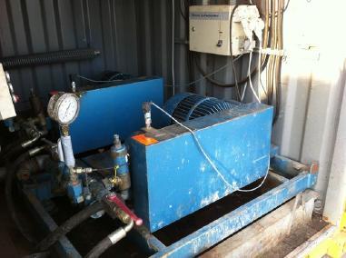 Varusteet - Woma 40 bar - 206 L/min high pressure water pump (each)