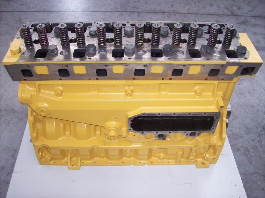 Caterpillar Long Block Diesel Engine used IT / RBNS-2597-MG