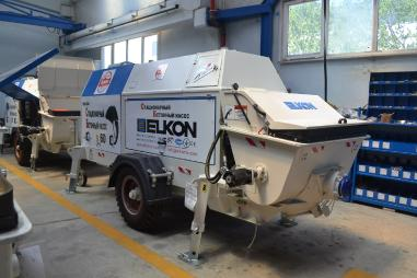 拖挂式混凝土泵 - Elkon ELKOPOMP S45 TRAILER TYPE CONCRETE PUMP