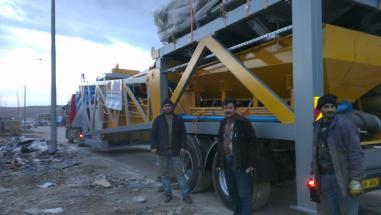 mobile Betonmischanlage - BOGA MAKINA 2014