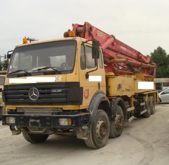 Mercedes Benz 3538 + PUTZMEISTER 43M