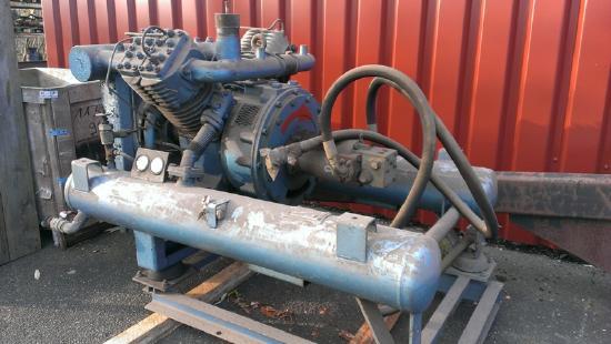 Hydraulisch betriebenes Luftdruckaggregat