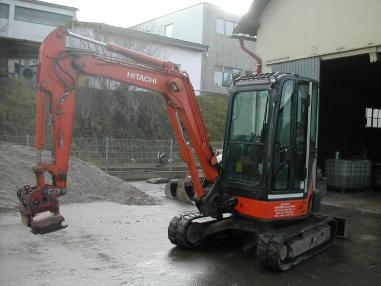 Mini ekskavatör - Hitachi ZX 38