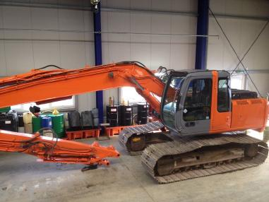 挖泥船 - 其它 Hitachi ZX 160 long reach noch 1 stuck