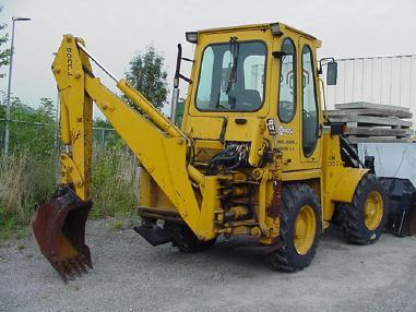 utovarni rovokopač - Ostalo DKT 404 H