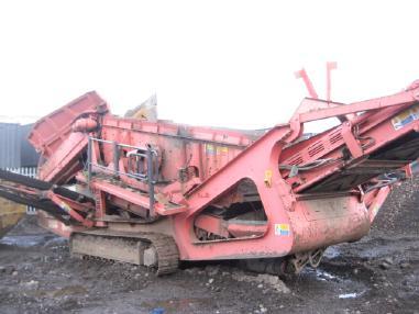 mobile screening plant - Sandvik QE340