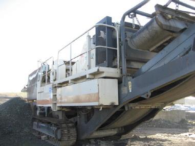 mobile Brecheranlage - Metso-Minerals LT105