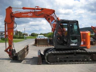 Tracked excavator - Hitachi ZX135US-3 VA