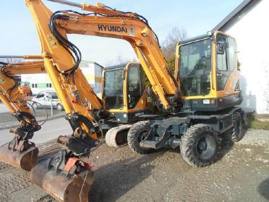 Excavadora de ruedas - Hyundai R55W-9A -25