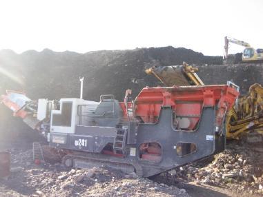 mobile Brecheranlage - Sandvik QJ241