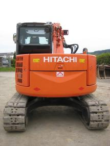 Tracked excavator - Hitachi ZX85US-3 Offset