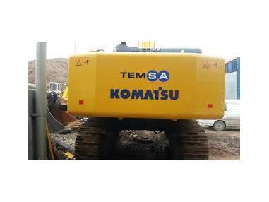 utovarni rovokopač - Komatsu PC600
