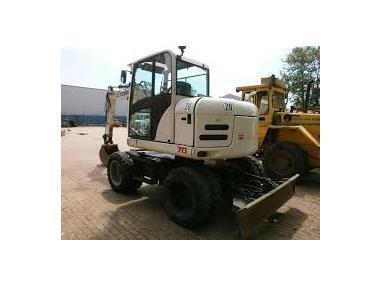 Excavator mobil - Terex TW70