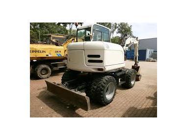 Excavadora de ruedas - Terex TW70