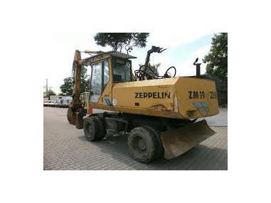Mobil ekskavatör - Zeppelin ZL19