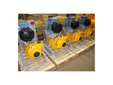 Zařízení na praní štěrku - Warman New Yellow Pumps.