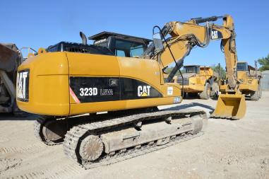 Rupsgraafmachine - Caterpillar 323DLNVA