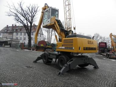 Mobiele graafmachine - Liebherr 924