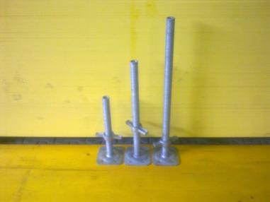 Teline - Muut Gerüst Fußspindel, feuerverzinkt