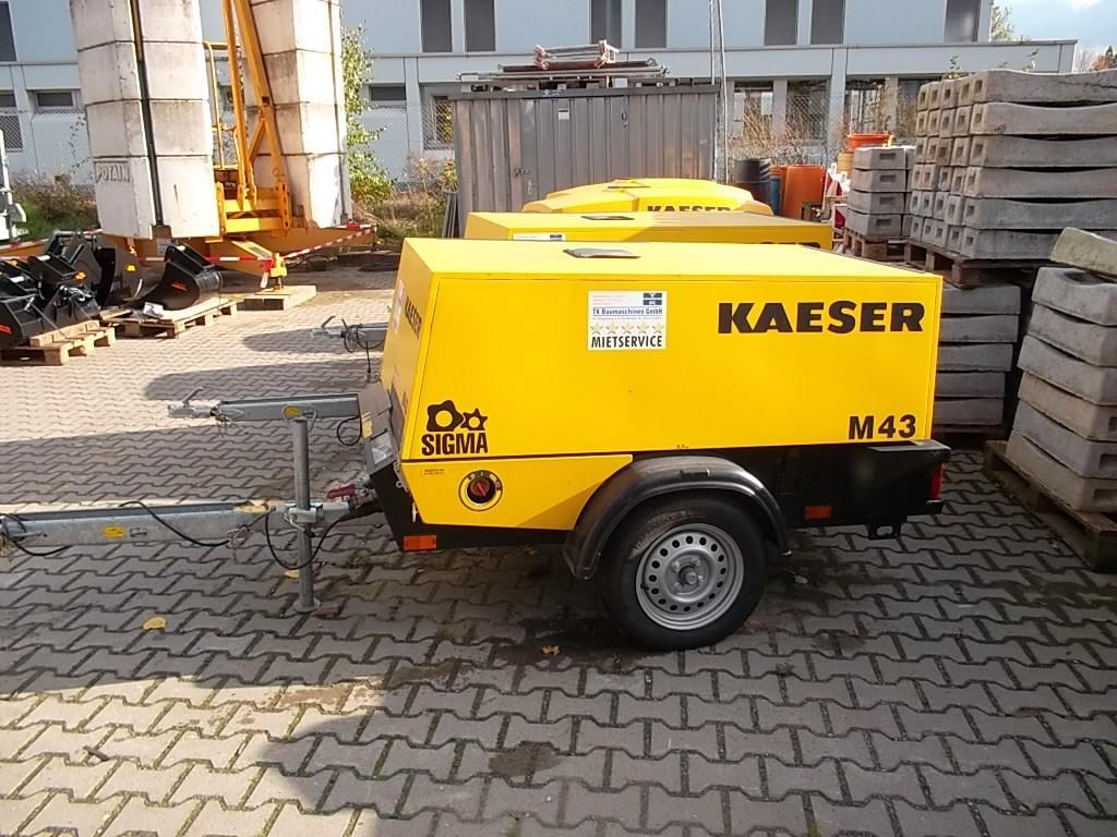 kaeser m 43 mobiler kompressor gebraucht de knmh 0426 nm. Black Bedroom Furniture Sets. Home Design Ideas