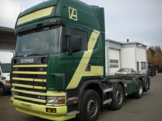 Scania R 164 GB 8X2 480