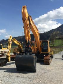 Tracked excavator - Hyundai 210 NLC-9