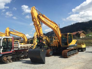 Escavatore cingolato - Hyundai 210 NLC-9