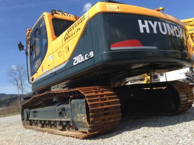 bager gusjeničar - Hyundai 210 NLC-9