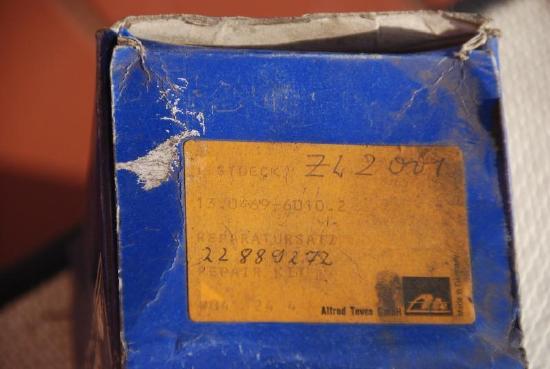 Rep.satz für Bremse Zettelmeyer ZL 2001