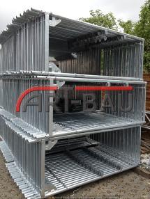 Скелетна конструкция - Други állványzat, 230m² Gerüst  Typ Plettac, sastatnes,