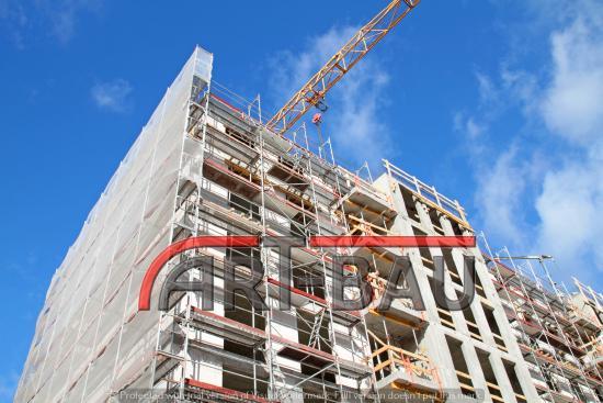 Rakennustelineet 200m², Typ Plettac, tellingud,