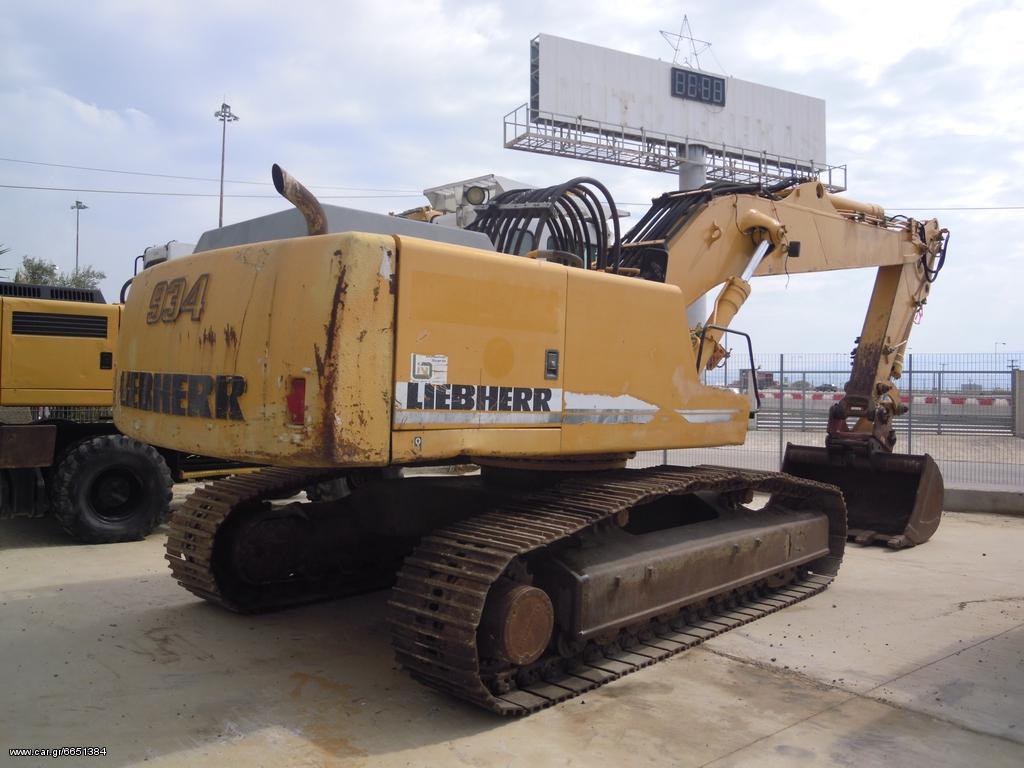 Terna - Liebherr 934 HDS LITRONIC