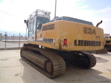 Retroexcavadora - Liebherr 934 HDS LITRONIC