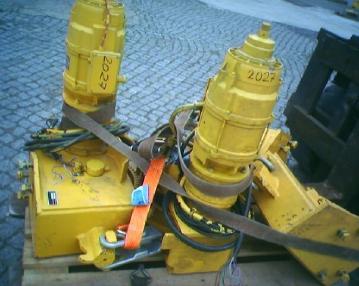 Varusteet - Potain Kranfahrwerk für POTAIN GTMR 331/336