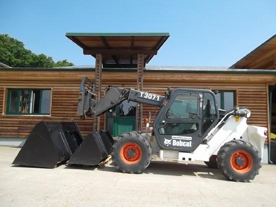 Bobcat T 3071 mit SW + Gabel + 2x Schaufel NEU !!